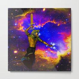 Star Fighter Metal Print