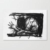 medicine Canvas Prints featuring Medicine Man by Dr. Lukas Brezak