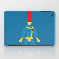 cyclops iPad Cases featuring Cyclops by gallant designs