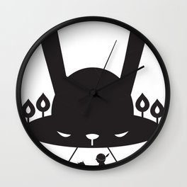 BLACK POND Wall Clock