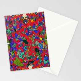 Earths Crowded Feelings Stationery Cards