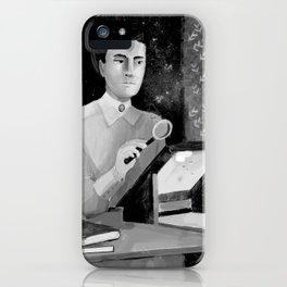 Women in Science, Henriette Leavitt iPhone Case