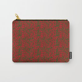 Animal Prints-Leopard Christmas Colors - Christmas Series Carry-All Pouch