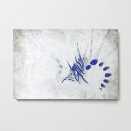 Lionfish Sketch Metal Print