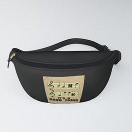 Music - It's A Band Thing Fanny Pack