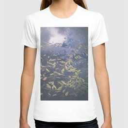 Floating in the darkness T-shirt