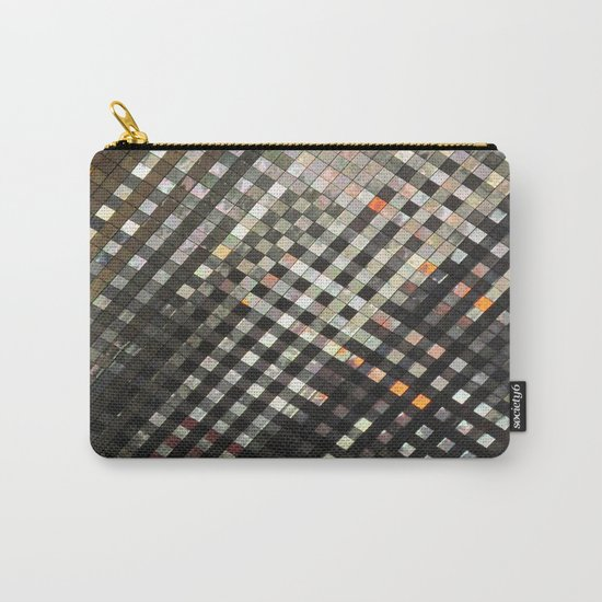 Checkered Reflections II Carry-All Pouch