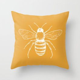 Save the bees! Throw Pillow