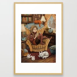 A Perfect Moment Framed Art Print