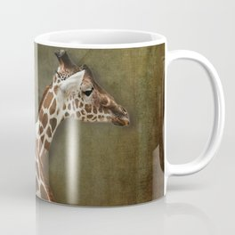 Giraffes Passing in the Night Coffee Mug