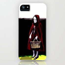 Little Blood Red Riding Hood iPhone Case