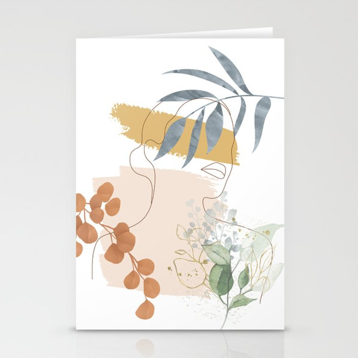 Line in Nature II Stationery Cards