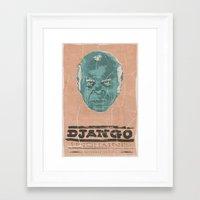 stephen king Framed Art Prints featuring stephen by kjell