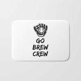 Go Brew Crew Bath Mat