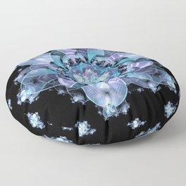 Ice Flower Floor Pillow