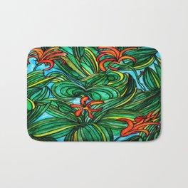 Florida Orange Blossom Bath Mat