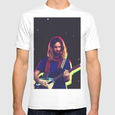 Kevin Parker from Tame Impala Mens Fitted Tee LARGE White
