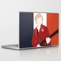 enjolras Laptop & iPad Skins featuring ENJOLRAS – LES MISÉRABLES by K. Frank