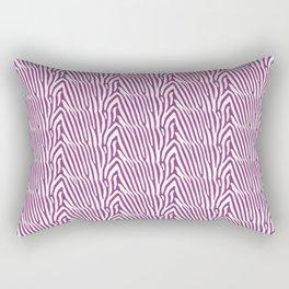 PURPLE ZEBRA STRIPES Rectangular Pillow