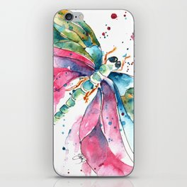 Vibrant Dragonfly iPhone Skin
