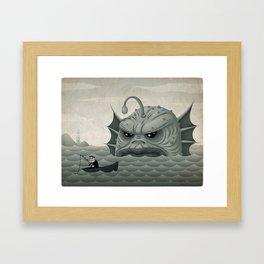 Old Salt - Revised Framed Art Print