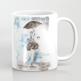 Rainy Coffee Mug