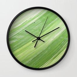 Ink & Charcoal #3 Wall Clock