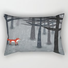 The Fox and the Forest Rectangular Pillow