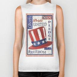 Freedom Flag Biker Tank