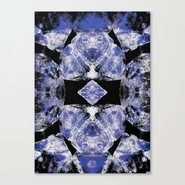 Indigo Mandala-Third Eye Chakra Canvas Print