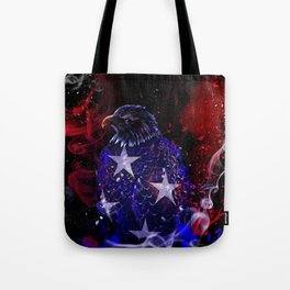 Ghost Of July Tote Bag