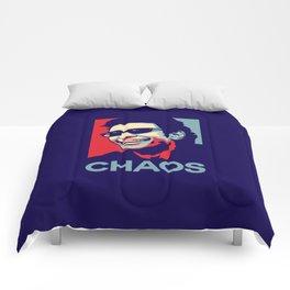 'Chaos' Ian Malcolm (Jurassic Park) Comforters
