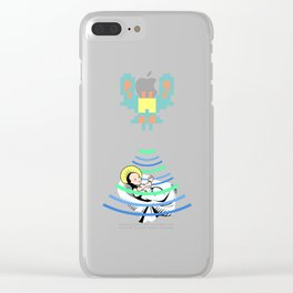 Ancient Aliens Clear iPhone Case