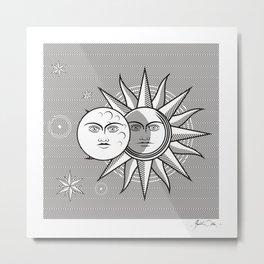ECPLIPSE Metal Print