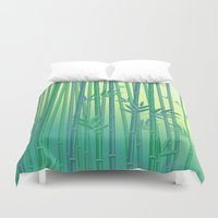 serenity Duvet Covers featuring Serenity by Natalia Linn