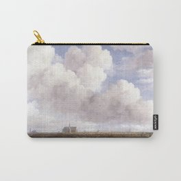 Jacob van Ruisdael - View of Haarlem with Bleaching Fields Carry-All Pouch