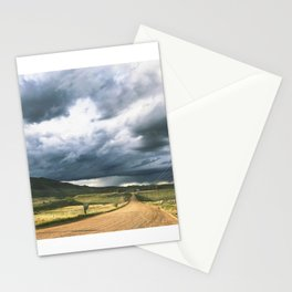 Yin Yang Skies Stationery Cards