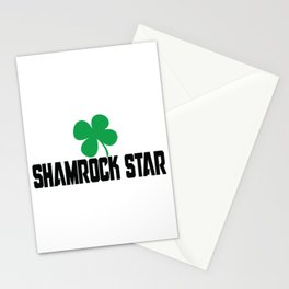 Shamrock Star Stationery Cards