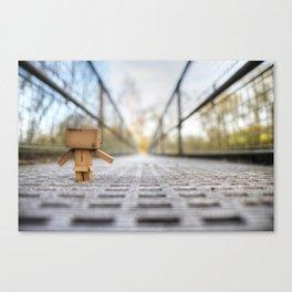 Evening stroll Canvas Print