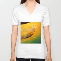 monty python V-neck T-shirts featuring Albino Python by GardenGnomePhotography