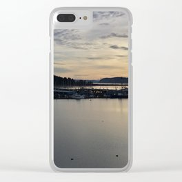 The Harbor in Oak Harbor Clear iPhone Case
