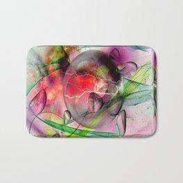 a hidden heart by Nico Bielow Bath Mat