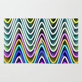Color Waves Rug