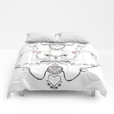 Cat Crest Comforters