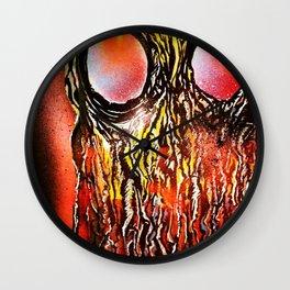 Jellyface Wall Clock
