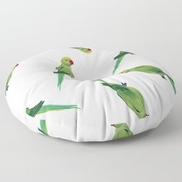 Indian Parrot Floor Pillow