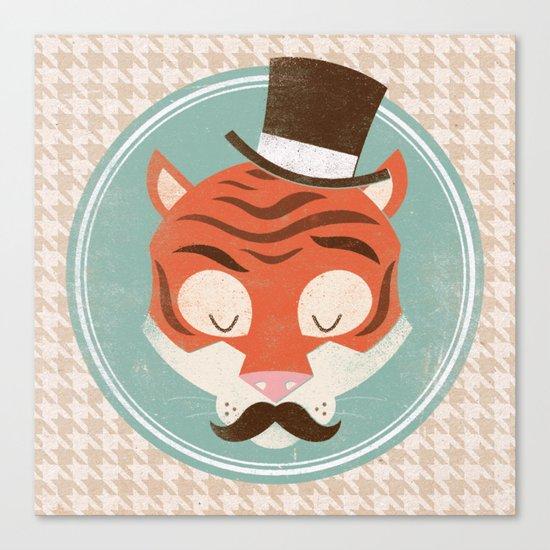 Uncommon Creatures - Tiger Canvas Print