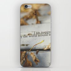 inspired by the world iPhone & iPod Skin