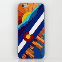denver iPhone & iPod Skins featuring Denver, CO by HighTribe