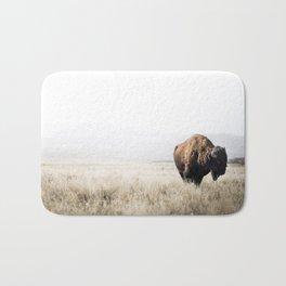 Bison stance Bath Mat